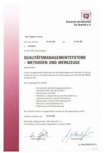 Qualitaetsmanagementsysteme